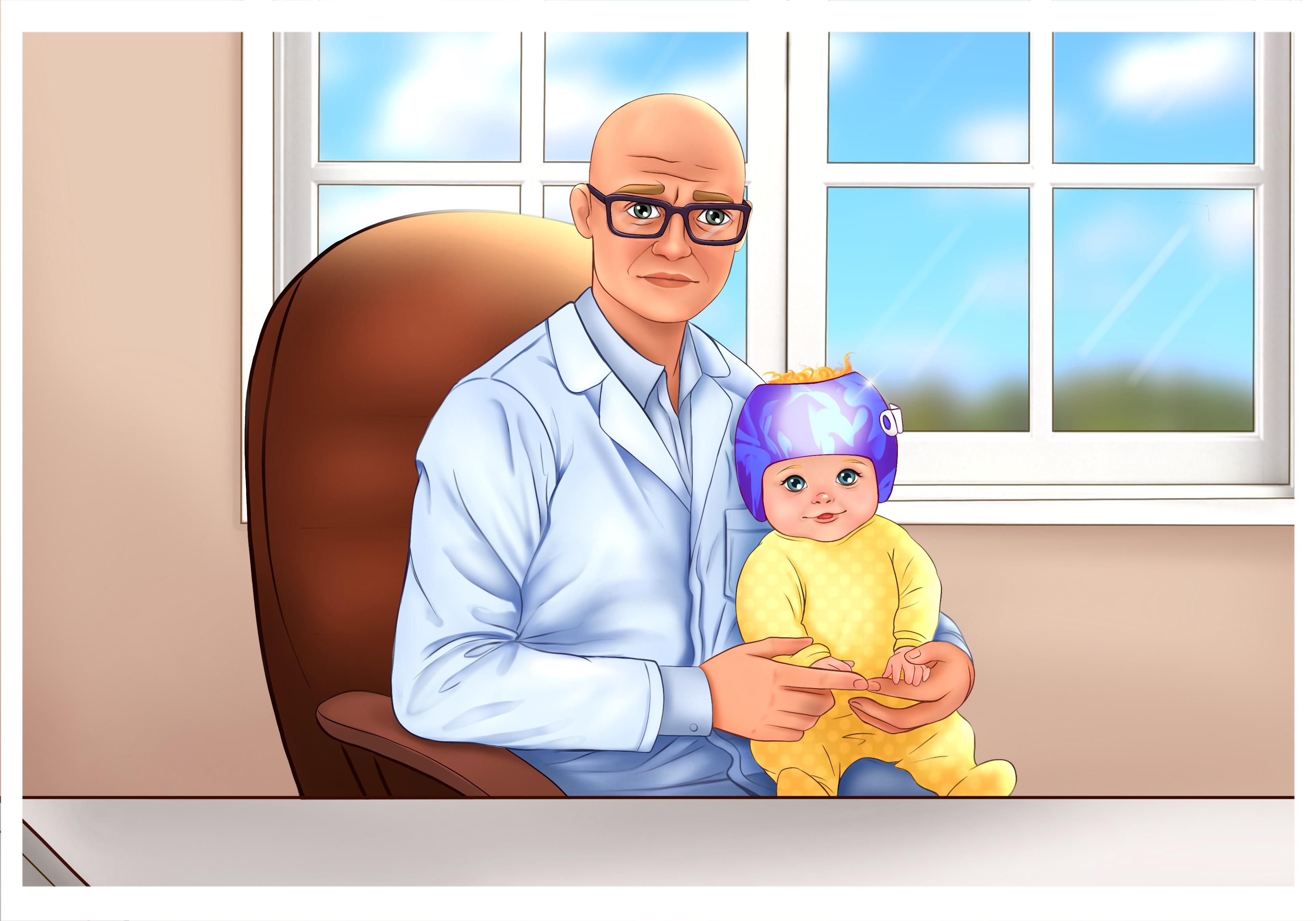 Что делать, если вы заметили деформацию головы у ребенка! - Ортотис Премиум