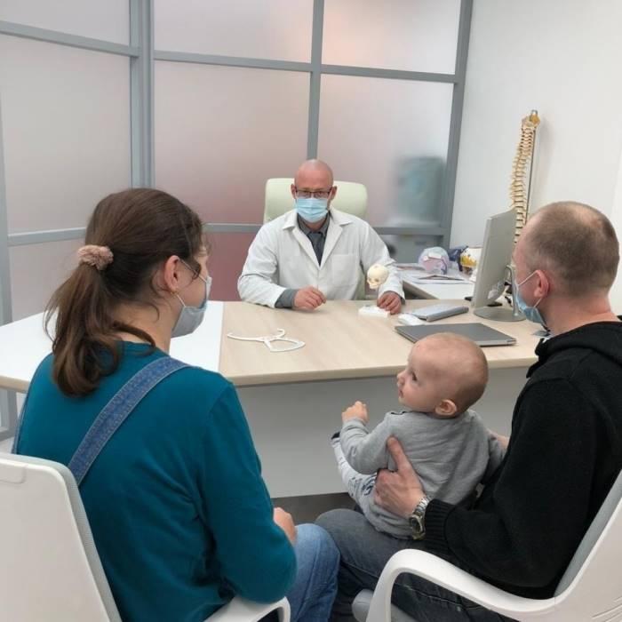 Прием ортопедов деформация головы у детей - Ортотис Премиум