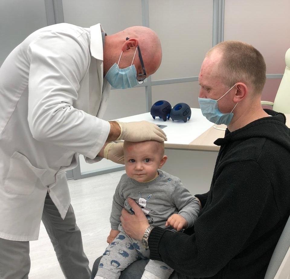 Заметили деформацию головы у ребенка? - Ортотис Премиум